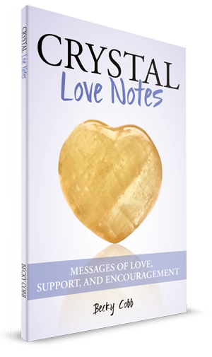 Becky Cobb Crystal Love Notes book